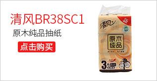 清风BR38SC1原木纯品抽纸