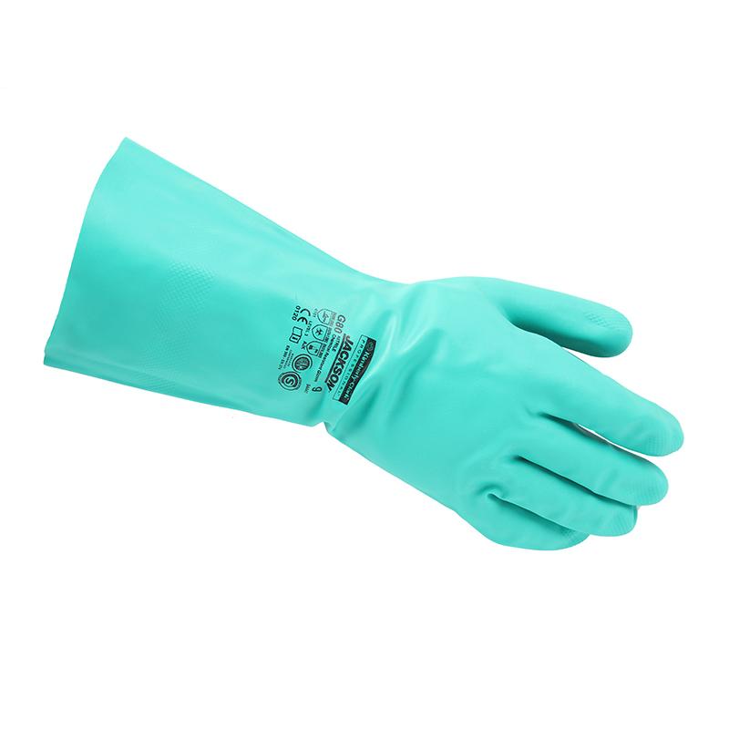 金佰利94446-8 G80绿色丁腈防化手套